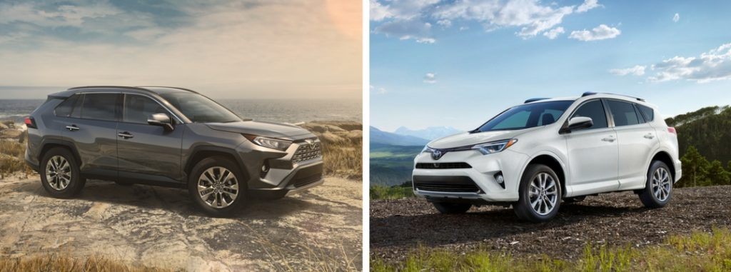 Highlander Vs 4Runner >> Differences Between the 2019 Toyota RAV4 and 2018 Toyota RAV4