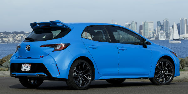Updates And Changes To The 2019 Toyota Corolla Design Downeast Toyota