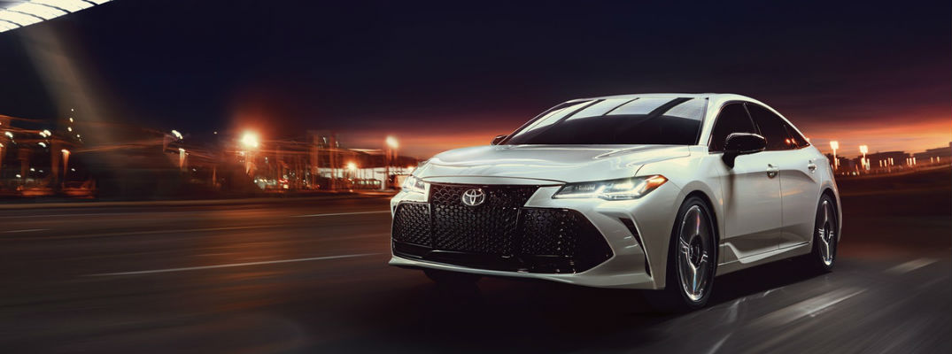 Luxurious 2019 Toyota Avalon Provides 8 Exterior Color Options