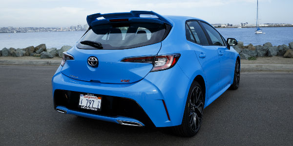 what are the 2019 toyota corolla hatchback trim levels and. Black Bedroom Furniture Sets. Home Design Ideas