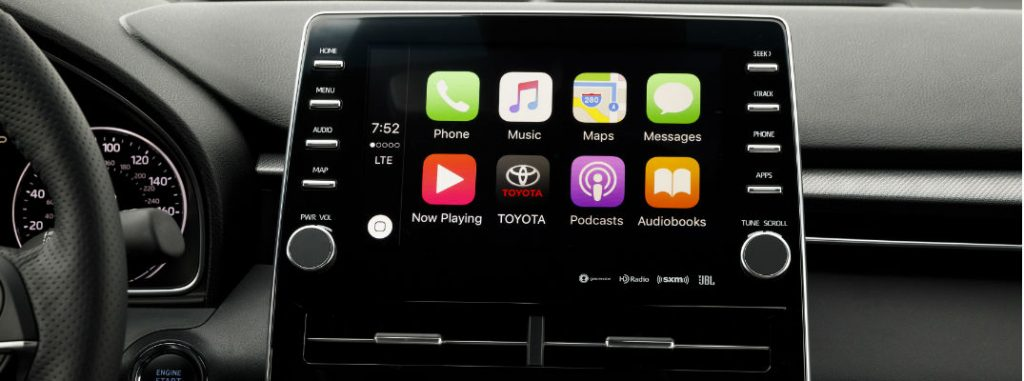 toyota apple carplay features  capabilities