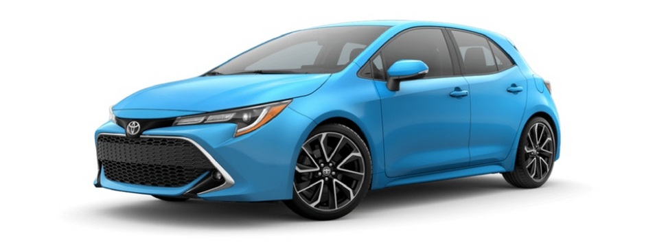 What Are The 2019 Toyota Corolla Hatchback Color Options