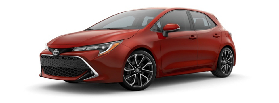 What Are the 2019 Toyota Corolla Hatchback Color Options?