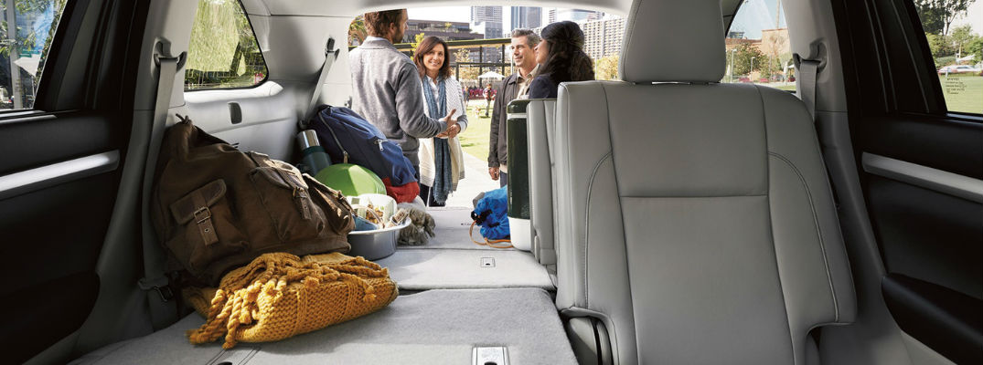 What Are the Toyota Highlander Cargo and Passenger Space Dimensions?