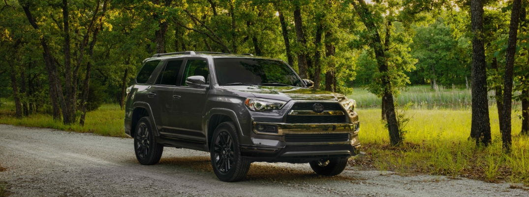 Toyota 4Runner Lineup Adds a Blacked-Out 4Runner Limited Nightshade Edition!