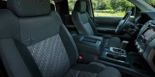 2019 Toyota Tundra SX Package Front Seat Interior