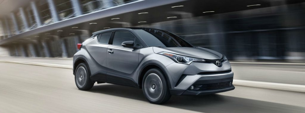 Available 2019 Toyota C-HR Interior and Exterior Color Options