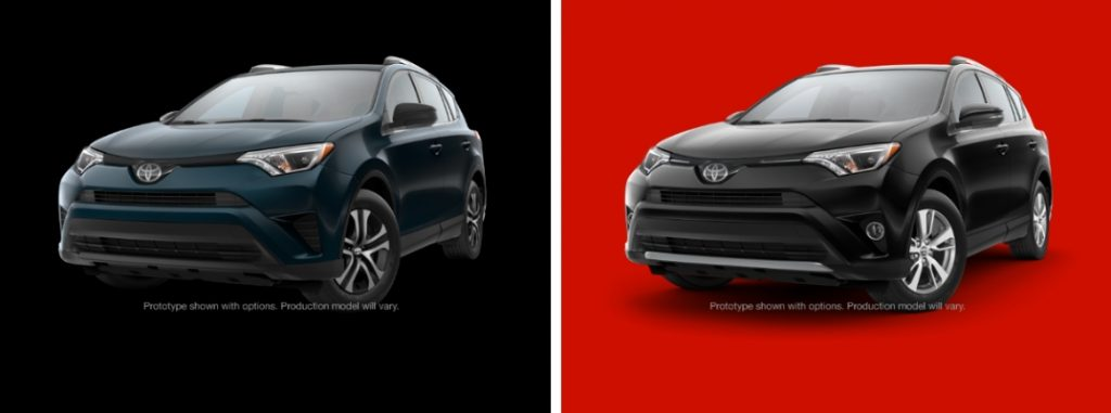 differences between the toyota rav4 le and toyota rav4 xle. Black Bedroom Furniture Sets. Home Design Ideas