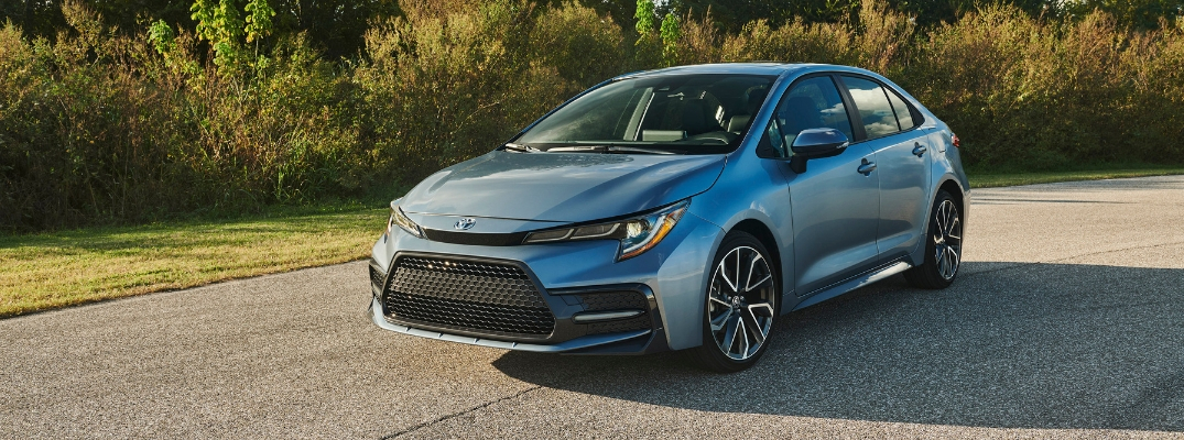 What's New for the 2020 Toyota Corolla Design at Downeast Toyota?