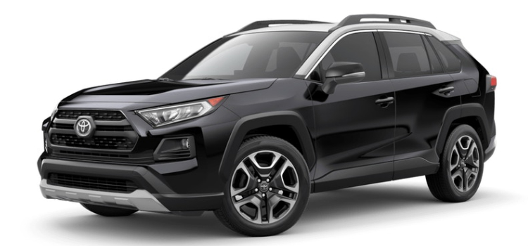 Toyota Rav4 Le Vs Xle >> Available 2019 Toyota RAV4 Interior and Exterior Color Options
