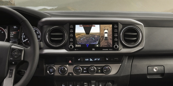 2020 Toyota Tacoma Entune 3.0 Touchscreen with Panoramic View Monitor and Multi Terrain Monitor