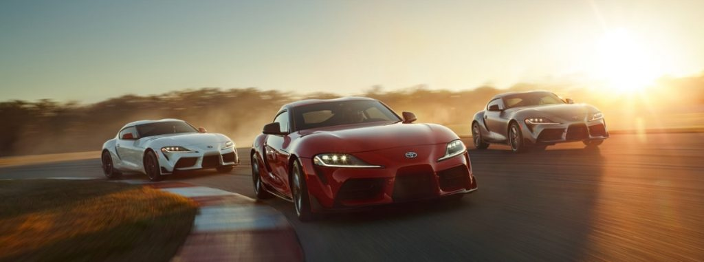 Available 2020 Toyota Supra Interior and Exterior Color Options