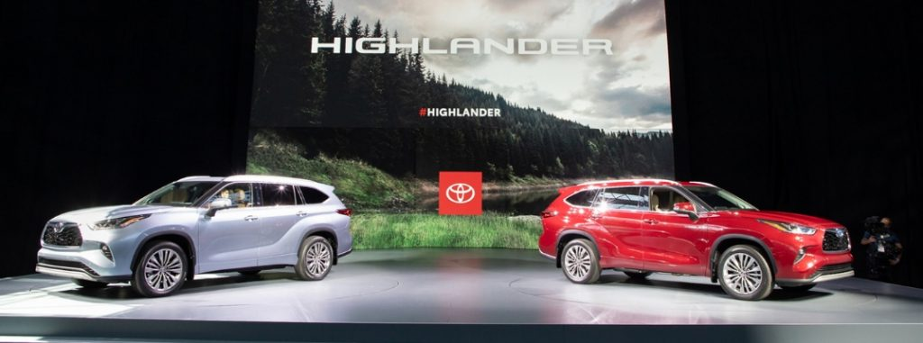 Official 2020 Toyota Highlander Release Date And Design Specs