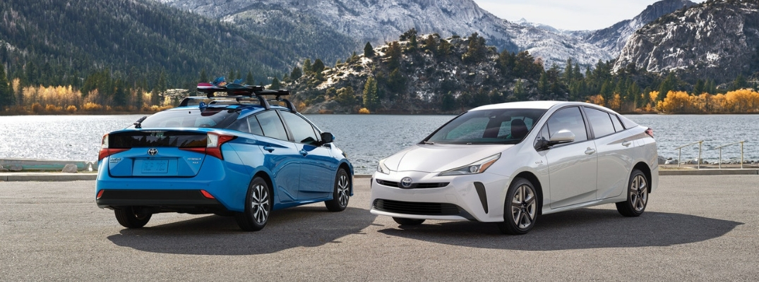 Updated 2019 Toyota Prius with AWD Available in 7 Exterior Colors