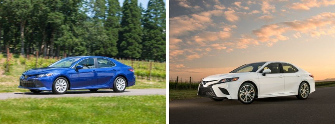 2019 Toyota Camry LE vs 2019 Toyota Camry SE Trim Level Comparison at Downeast Toyota
