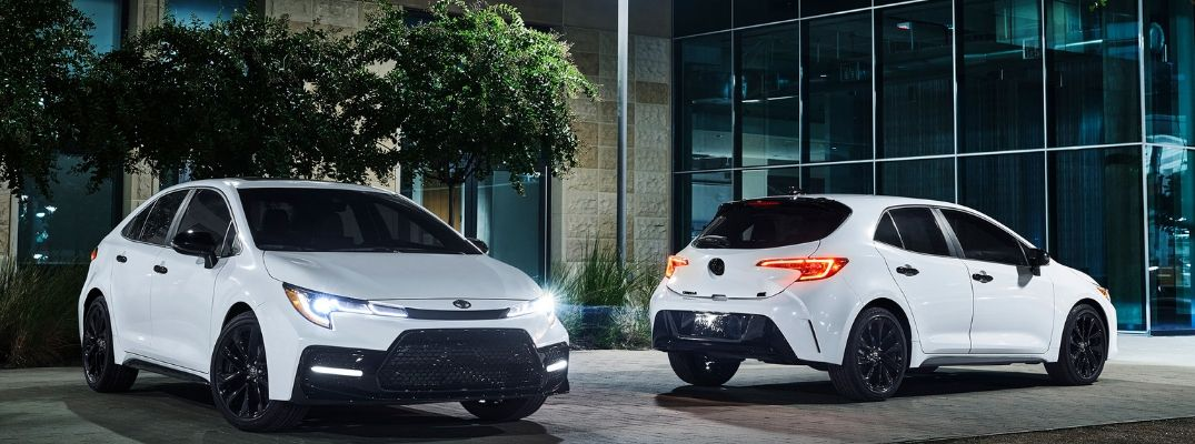 Toyota Corolla Sedan and Toyota Corolla Hatchback Add Blacked-Out Nightshade Edition