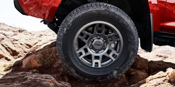 Close Up of 2020 Toyota 4Runner Venture Edition Wheels