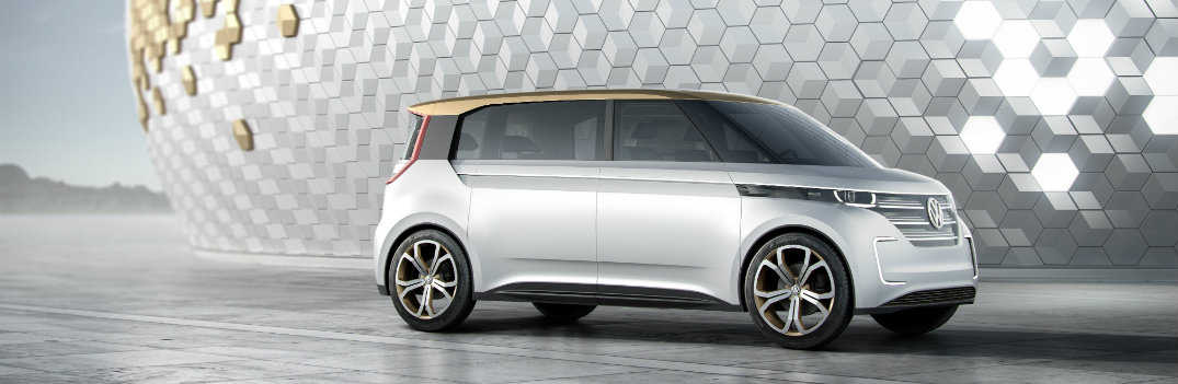 All-Electric VW BUDD-e at 2016 CES