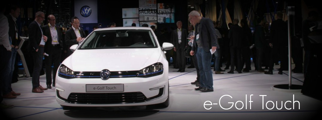 VW e-Golf Touch concept radio system