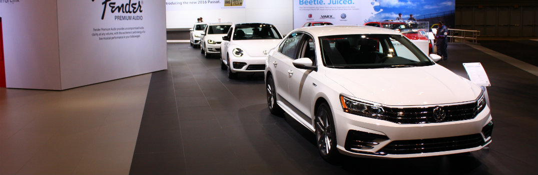 Volkswagen Models And Displays At Chicago Auto Show - Vw car show las vegas