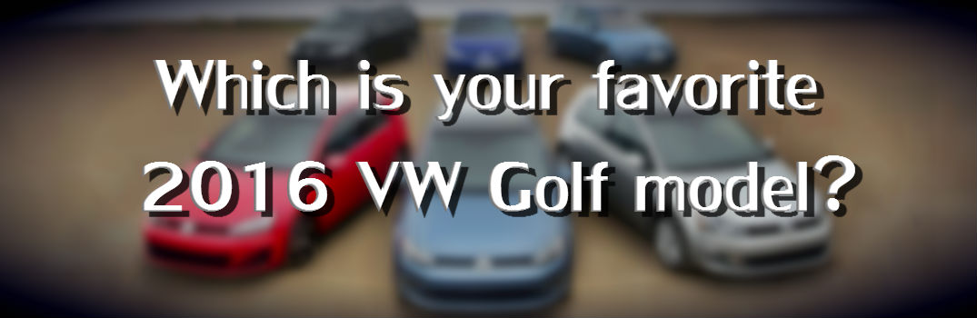 2016 VW Golf vs Golf SportWagen vs Golf GTI vs Golf R