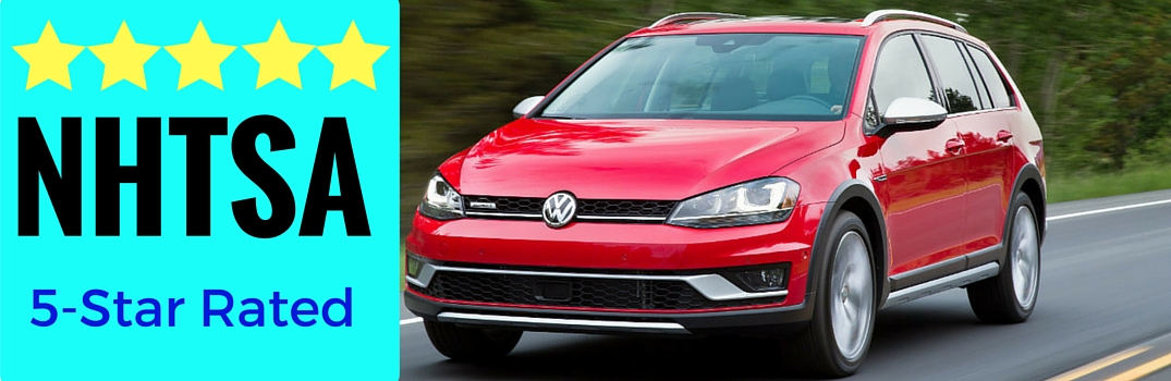 NHTSA ratings rolling in for 2017 VW models