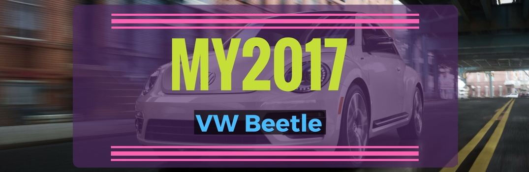 Trims and Special Edition 2017 Volkswagen Beetles