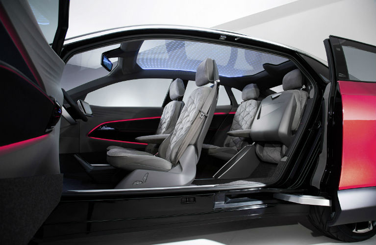 vw-id-crozz-opened-to-see-seats-and-interior-B_o - Findlay North Volkswagen