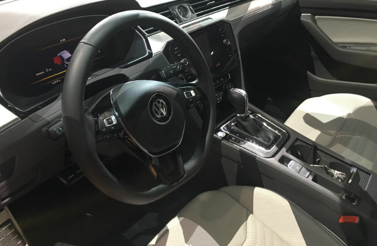 pictures of the 2019 vw arteon at cas 2018. Black Bedroom Furniture Sets. Home Design Ideas