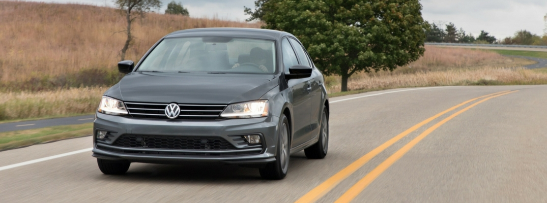 2018 VW Jetta Front View of Gray Exterior