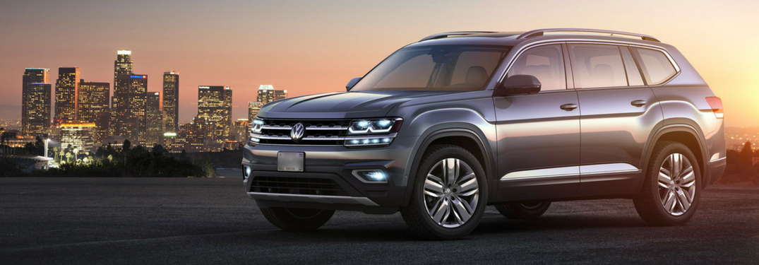 What technology features does the 2018 Volkswagen Atlas have?
