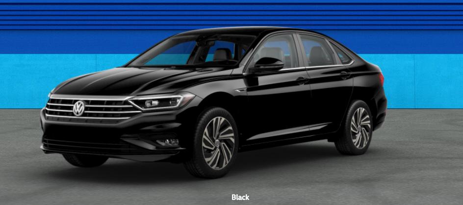 2020 Volkswagen Passat Black