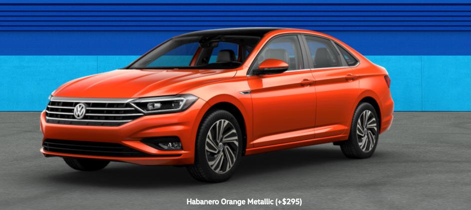 2020 Volkswagen Passat Habanero Orange Metallic