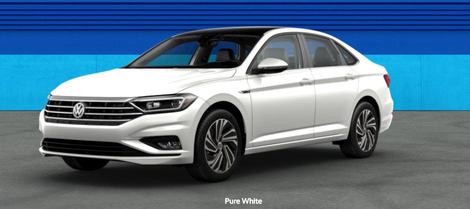 2020 Volkswagen Passat Pure White