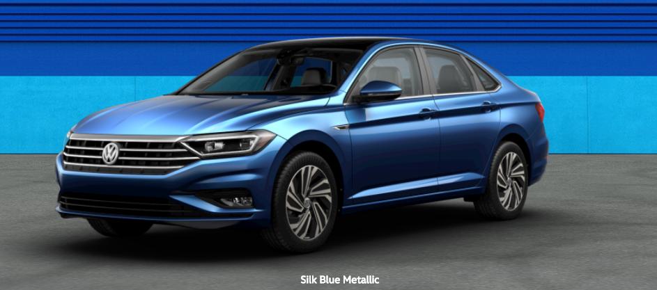2020 Volkswagen Passat Silk Blue Metallic