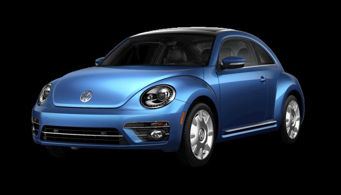 2019 Volkswagen Beetle Silk Blue Metallic