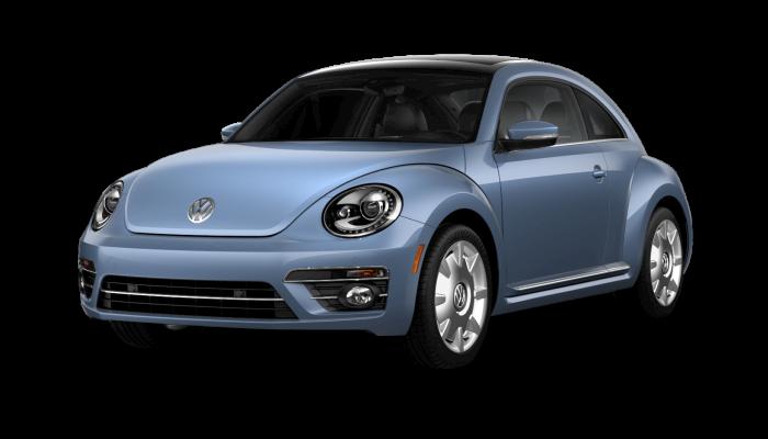2019 Volkswagen Beetle Stonewashed Blue Metallic