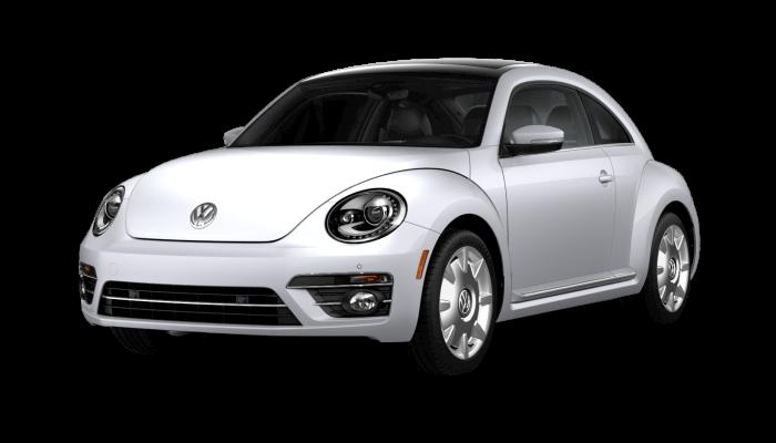 2019 Volkswagen Beetle White Silver Metallic