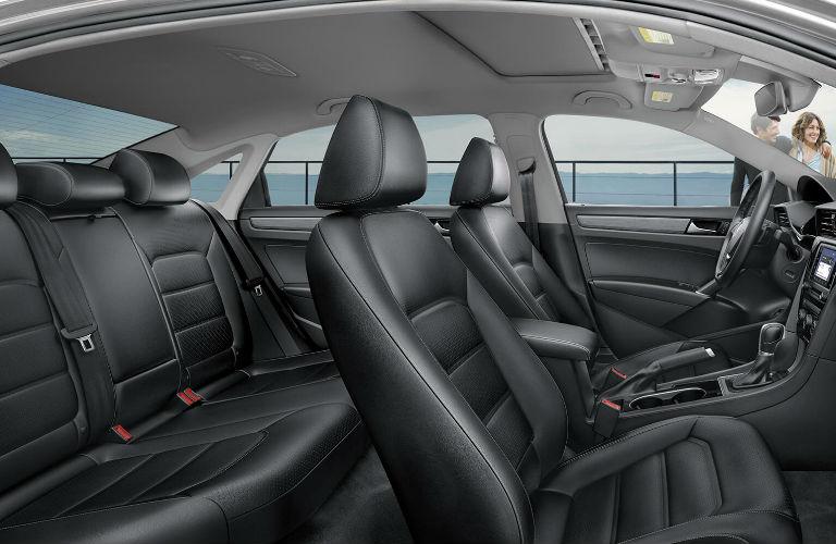 2020 Volkswagen Passat interior passenger seats