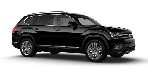 2020 Volkswagen Atlas Deep Black Pearl