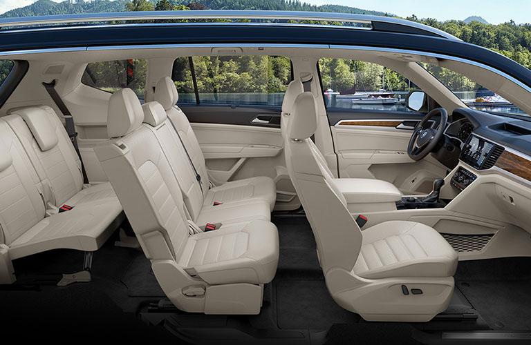 2020 Volkswagen Atlas passenger seats