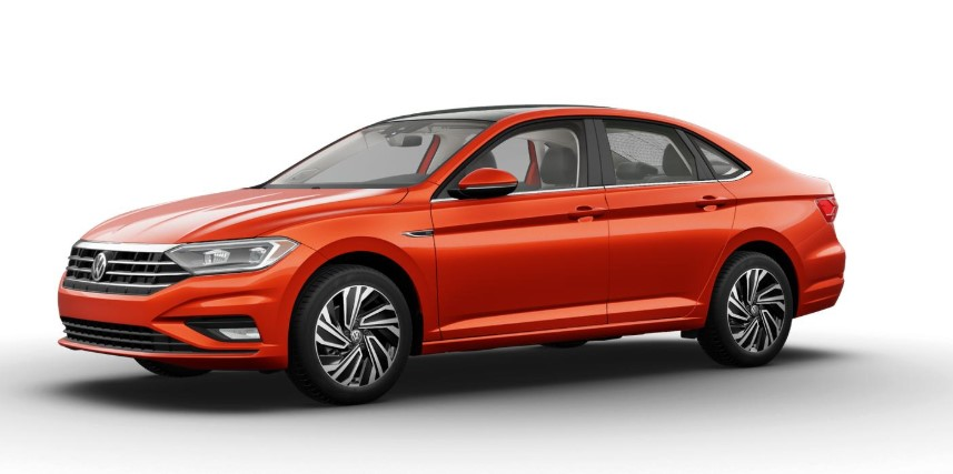 2020 Volkswagen Jetta Habanero Orange Metallic