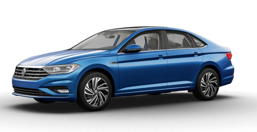 2020 Volkswagen Jetta Silk Blue Metallic