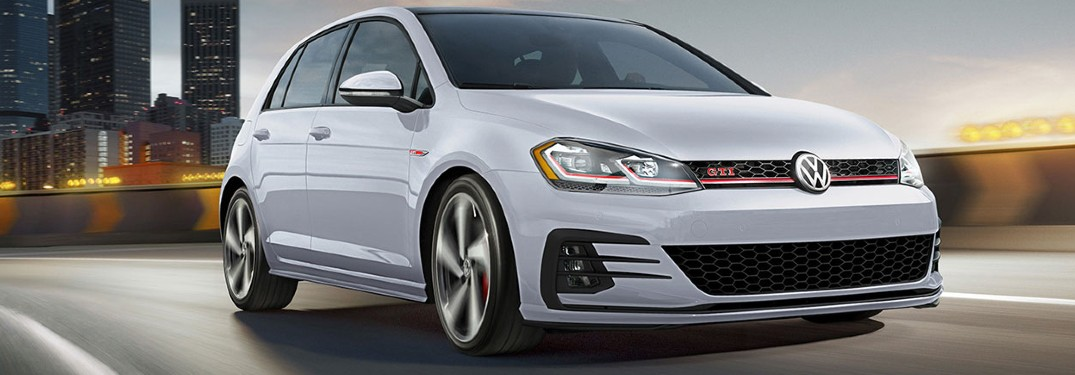 5 Color options available in the 2020 Volkswagen Golf GTI lineup