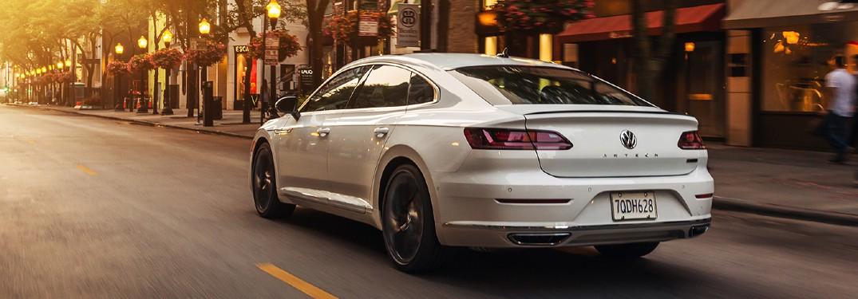 2020 Volkswagen Arteon driving on a road