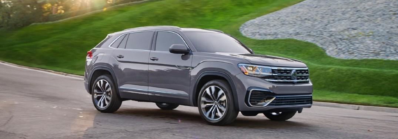 2020 Volkswagen Atlas Cross Sport front and side profile