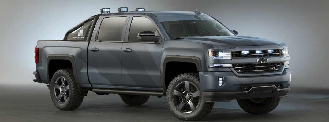 Chevy Silverado 2017 Special Edition >> Buy A Chevy Silverado Special Ops Limited Edition