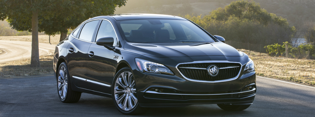 Features in the 2017 Buick LaCrosse