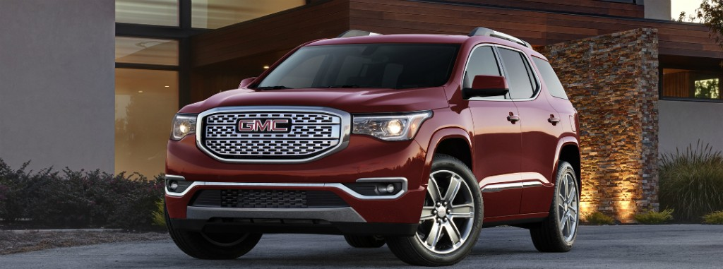 what is new in the 2017 gmc acadia. Black Bedroom Furniture Sets. Home Design Ideas