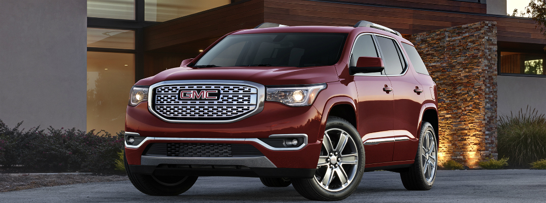 What is new in the 2017 GMC Acadia?